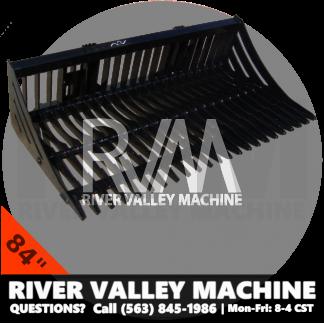 RVM® HD | River Valley Machine Heavy-Duty 84″ Skeleton Bucket