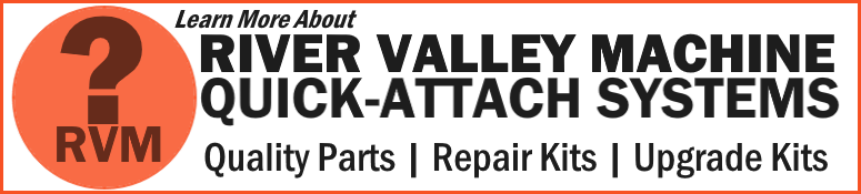 Universal Quick-Attach Systems from RVM | River Valley Machine
