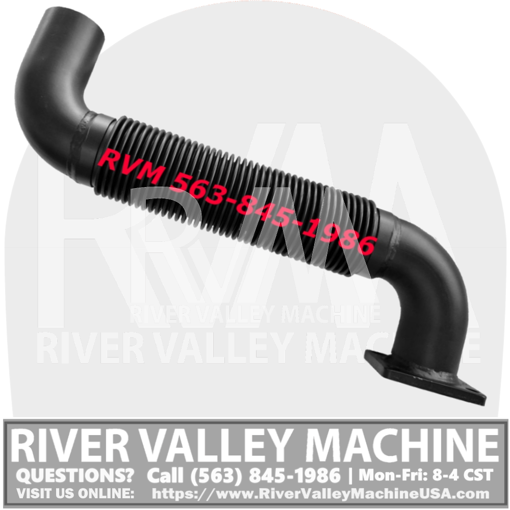 7107449 Turbo Exhaust Pipe w/ Gasket @ River Valley Machine | RVM, LLC