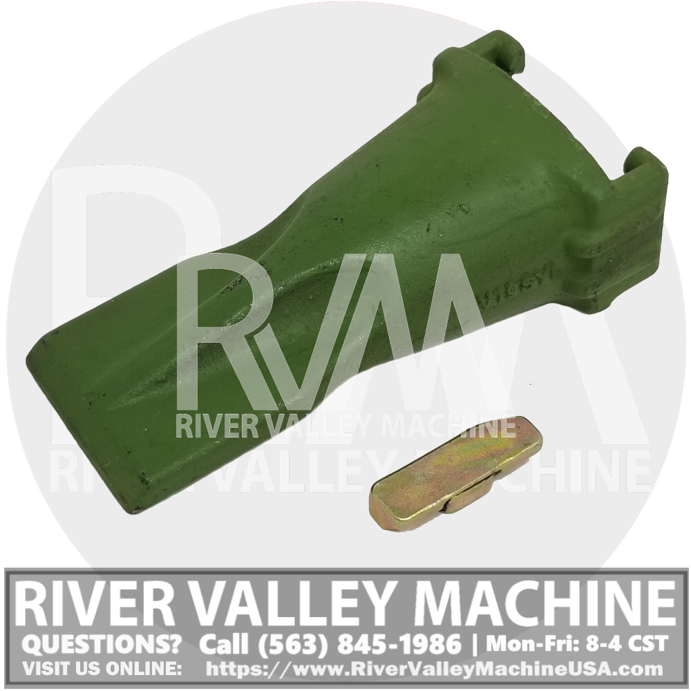 V19SYL Bucket Tooth w/ Pin @ RVM, LLC | River Valley Machine